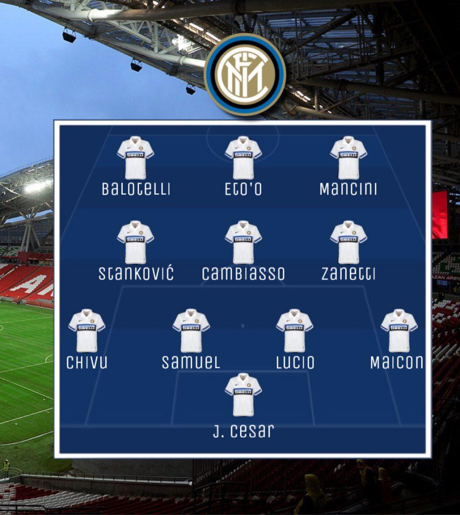 Rubin Kazan-Inter, la campagna di Russia 4 Ranocchiate