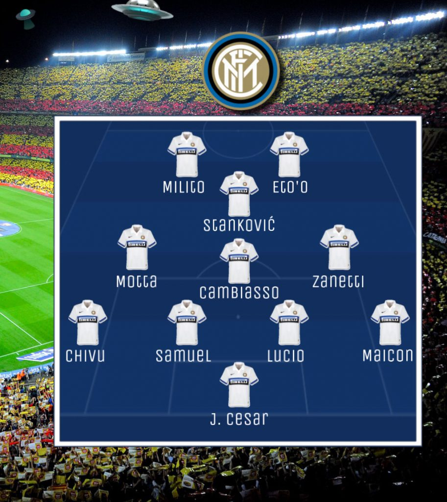 Barcelona-Inter: la strategia segreta di Mourinho 2 Ranocchiate