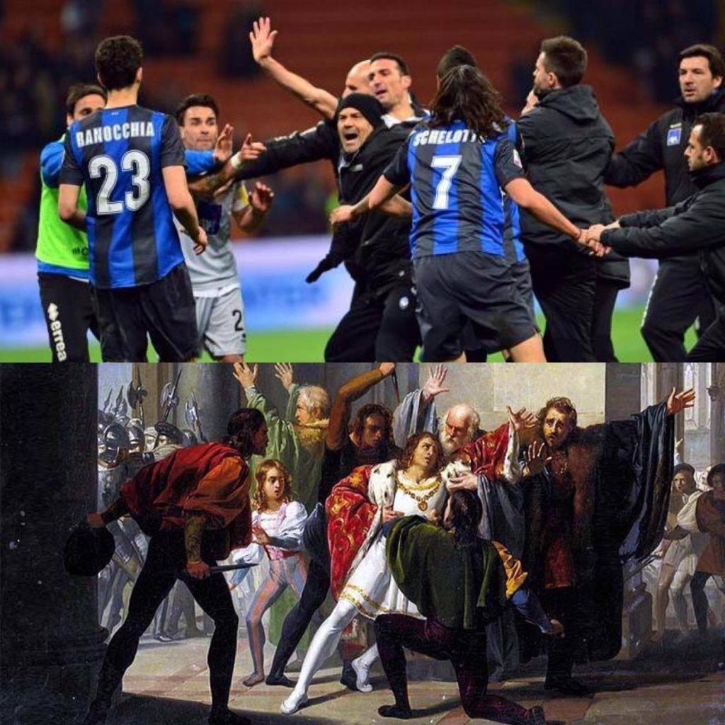 Inter-Atalanta tra rigori, risse, triplette e follie 4 Ranocchiate