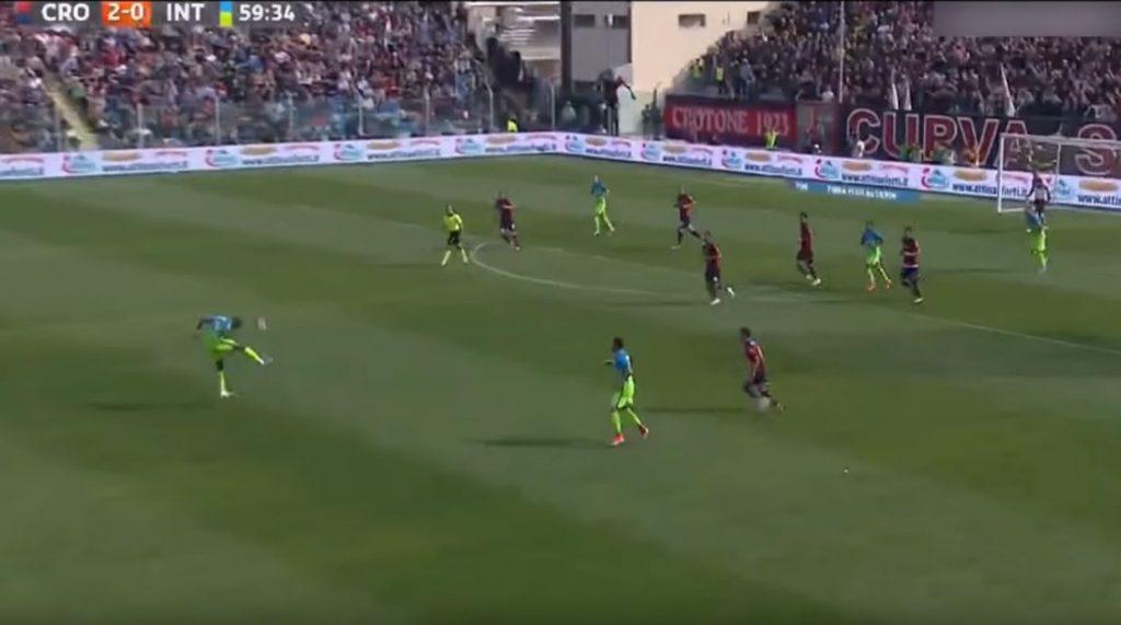 Crotone-Inter e la mossa volante di Kondogbia 3 Ranocchiate
