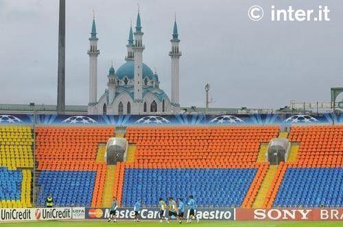 Rubin Kazan-Inter, la campagna di Russia 2 Ranocchiate
