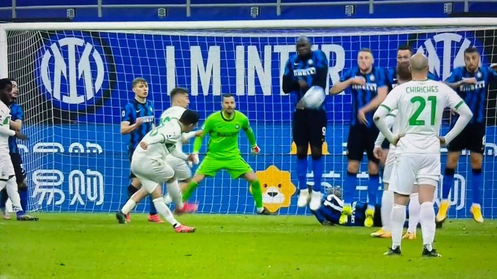 Inter - Sassuolo, dieci pensieri post - partita 3 Ranocchiate
