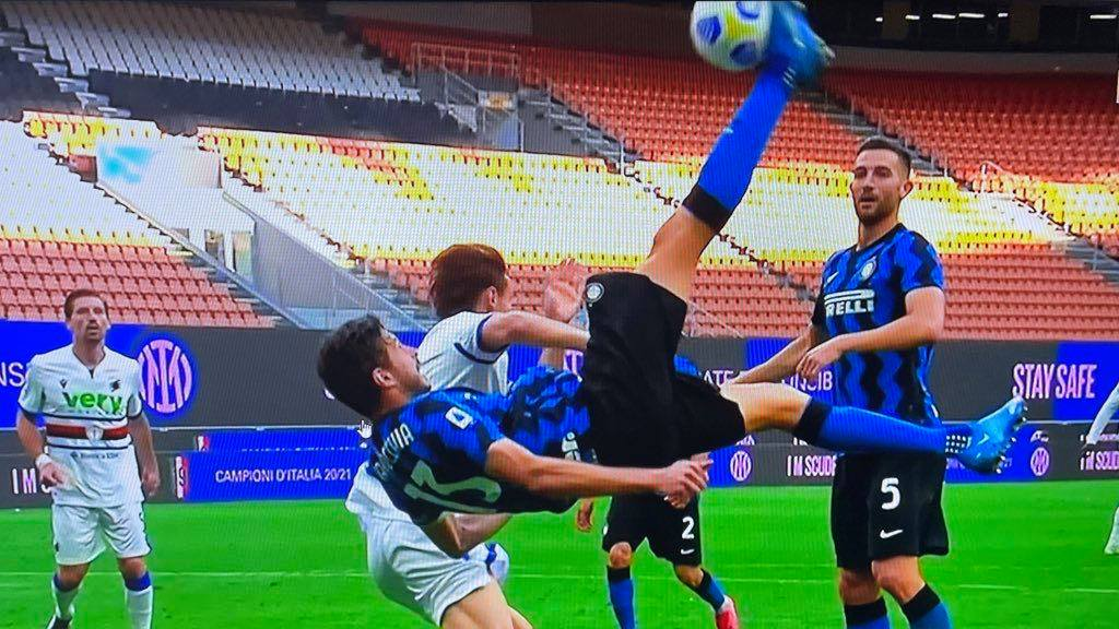 Inter - Sampdoria, dieci pensieri post - partita 8 Ranocchiate
