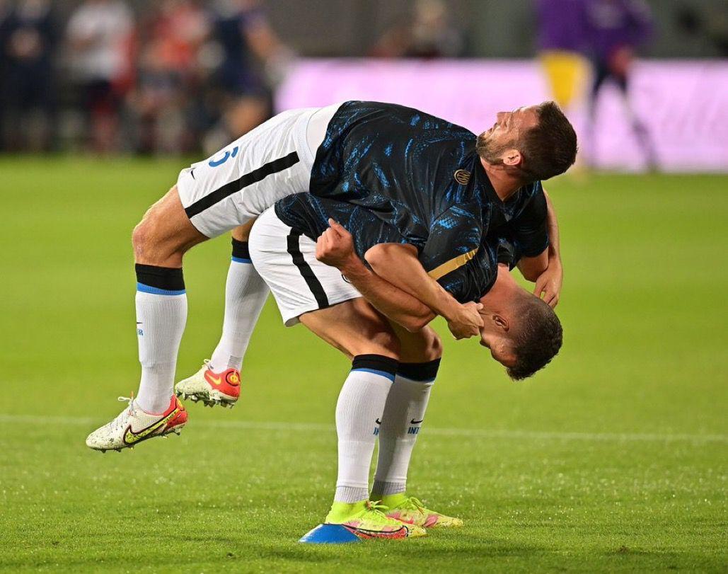 Fiorentina - Inter, dieci santini postpartita 8 Ranocchiate